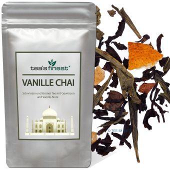 Schwarzer Tee Vanille Chai 250 Gramm