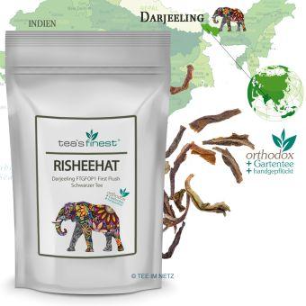 Schwarzer Tee Darjeeling Risheehat FTGFOP1 First Flush