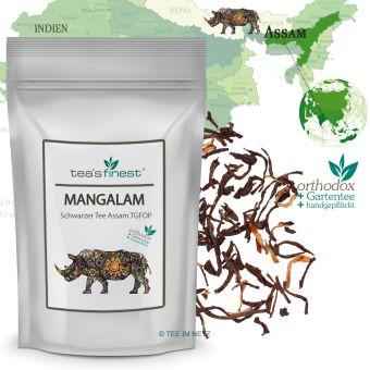 Schwarzer Tee Assam Mangalam TGFOP