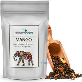 Schwarzer Tee Mango 250 Gramm