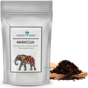 Schwarzer Tee Maracuja 100 Gramm