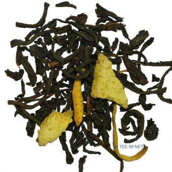 Schwarzer Tee Orange (entkoffeiniert)
