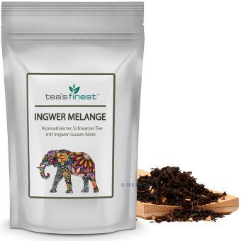 Schwarzer Tee Ingwer-Melange (Ingwer-Guave)