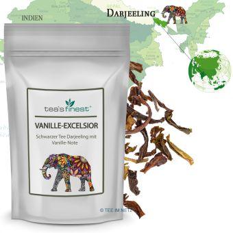 Schwarzer Tee Darjeeling Vanille Excelsior