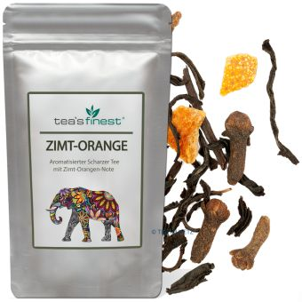 Schwarzer Tee Zimt-Orange