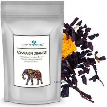 Schwarzer Tee Rosmarin-Orange 100 Gramm