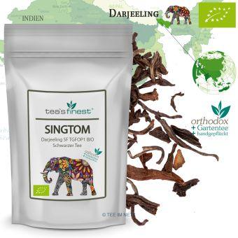 Schwarzer Tee Darjeeling Singtom SF TGFOP1- BIO
