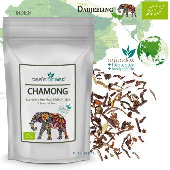Darjeeling Chamong FTGFOP1 First Flush - BIO 500 Gramm
