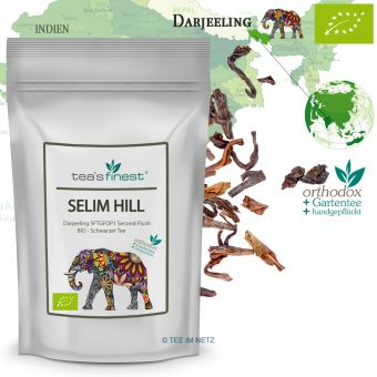 Darjeeling Selim Hill SF TGFOP1 Second Flush - BIO 100 Gramm