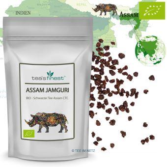 Schwarzer Tee Assam Jamguri CTC - BIO 1000 Gramm