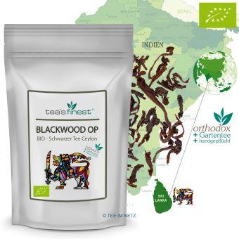 Schwarzer Tee Ceylon Blackwood OP - BIO