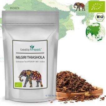 Schwarzer Tee Nilgiri Thiashola SFTGFOP1- BIO