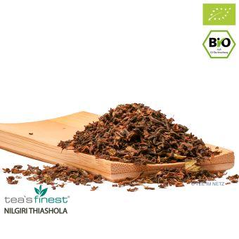 Schwarzer Tee Nilgiri Thiashola SFTGFOP1- BIO ca. 4 Gramm