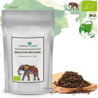 Schwarzer Tee Englische Mischung - BIO 250 Gramm
