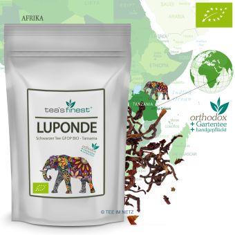 Schwarzer Tee Tansania GFOP Luponde - BIO