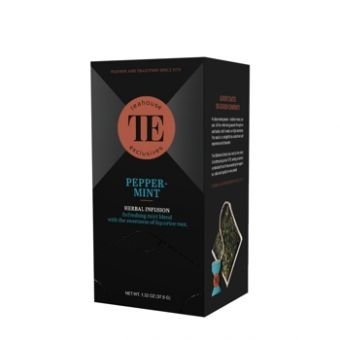 Teahouse Exclusives Peppermint/Pfefferminze Luxury Tea Bag 15 x 2.5 Gramm