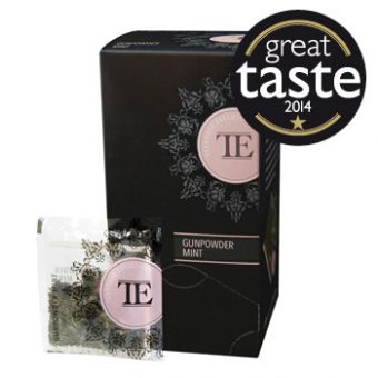 Teahouse Exclusives Gunpowder Mint / Luxury Tea Bag 15 x 3.5 Gramm
