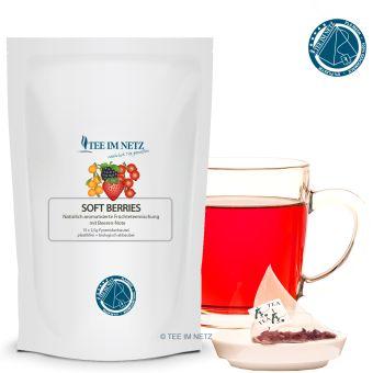 Früchtetee Soft Berries 15x2.5g Pyra-Beutel