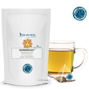 Grüner Tee Morningsky® 15x2.1g Pyra-Beutel