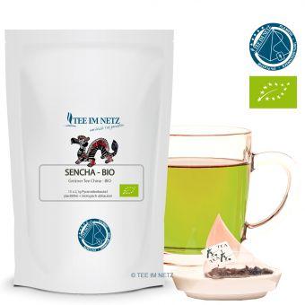 Grüner Tee Sencha / BIO 15x2.1g Pyra-Beutel