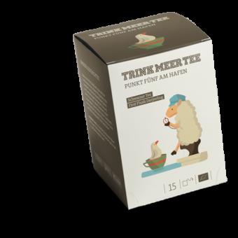 TRINK MEER TEE - PUNKT 5 AM HAFEN - Darjeeling / BIO 15 x 3.0 g