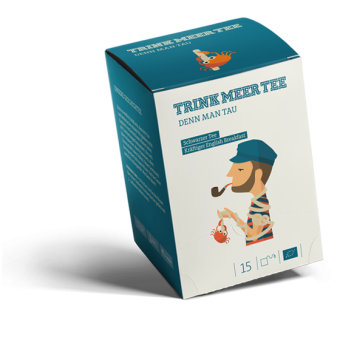 TRINK MEER TEE - DENN MAN TAU - English Breakfast / BIO 15 x 3.0 g