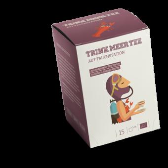 TRINK MEER TEE - AUF TAUCHSTATION - Arom. Früchtetee / BIO 15 x 5.0 g