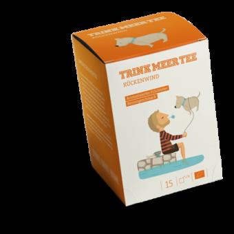 TRINK MEER TEE - RÜCKENWIND - Arom. Früchtetee / BIO 15 x 4.0 g