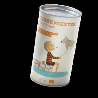TRINK MEER TEE - RÜCKENWIND - Arom. Früchtetee / BIO 170 Gramm