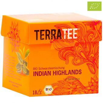 Terra Tee® Schwarzteemischung Indian Highlands / BIO 18 x 2.0 g
