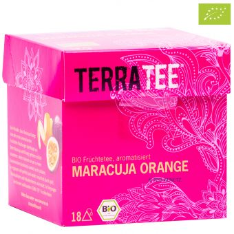 Terra Tee® Früchtetee Maracuja Orange / BIO 18 x 2.5 g
