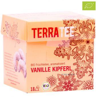 Terra Tee® Früchtetee Vanille Kipferl / BIO 18 x 2.5 g