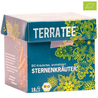 Terra Tee® Kräutertee Sternenkräuter® / BIO 18 x 2.0 g