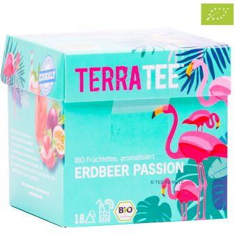 Terra Tee® Früchtetee Erdbeer Passion / BIO 18 x 2.5 g