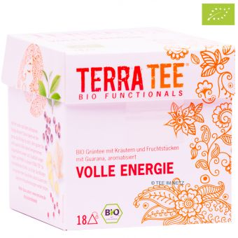 Terra Tee® Grüntee VOLLE ENERGIE / BIO 18 x 2.2 g