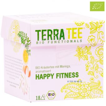 Terra Tee® Kräutertee HAPPY FITNESS / BIO 18 x 2.2 g