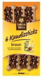 Braune Kandissticks 6 x 10.8 g