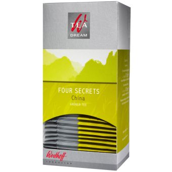 Westhoff Four Secrets China Grüner Tee 25 x 1,5 g