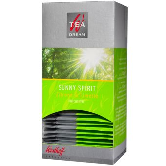 Westhoff Sunny Spirit Zitrone & Limette 25 x 2 g