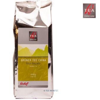 Westhoff Four Secrets Grüner Tee / Loser Tee 200 Gramm