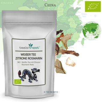 Weißer Tee Zitrone-Rosmarin - BIO