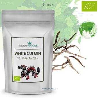 Weißer Tee White Cui Min (Spring) Qingshan - BIO 100 Gramm