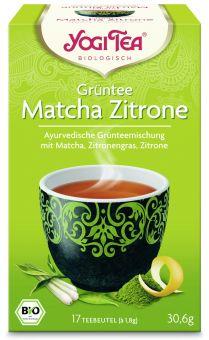 YOGI TEE Grüntee Matcha Zitrone / BIO 17 x 1.8 g