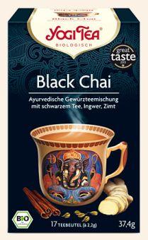 YOGI TEE Black Chai - BIO 17 x 2.2 g