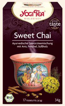 YOGI TEE Sweet Chai - BIO 17 x 2.0 g