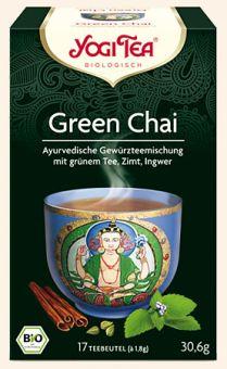 YOGI TEE Green Chai - BIO 17 x 1.8 g