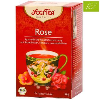 YOGI TEE  Rose - BIO 17 x 2.0 g