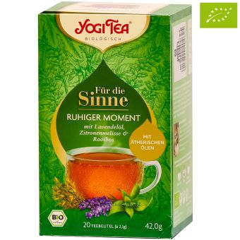 YOGI TEA® Für die Sinne Ruhiger Moment / BIO 20 x 2.1 g