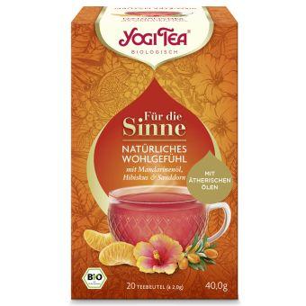 YOGI TEA® Für die Sinne Natürliches Wohlgefühl / BIO 20 x 2.0 g