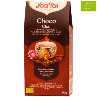 YOGI TEE lose Choko Chai - BIO 90 Gramm